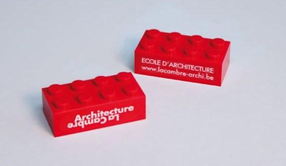 Tarjetas de Visita Ultra Creativas - Estudio de Arquitectura