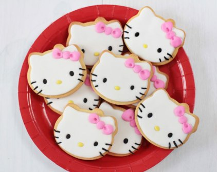 Bocaditos de Hello Kitty - Galletas de Mantequilla