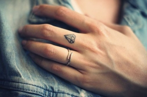 Mini Tatuajes ideales para Chicas - Tatuajes de Diamante