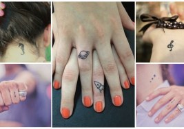 23 Mini Tatuajes ideales para Chicas.