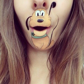 Labios Caricaturizados - Pluto
