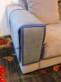 Cubre sofás contra uñas de gato