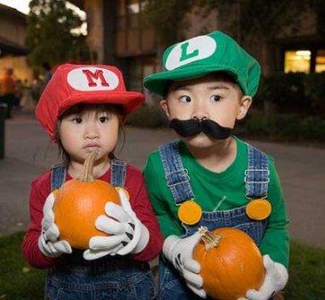 Disfraces para ir en Pareja - Disfraz de Mario Bros.