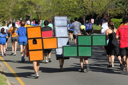 Disfraces para ir en Pareja - Disfraz de Tetris