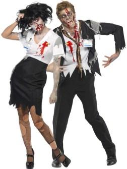Disfraces para ir en Pareja - Disfraz de Zombie.