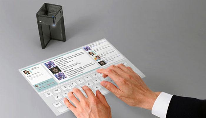 Teclados Led para trabajar desde tu Smartphone - Magic Cube