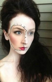 Maquillaje de Halloween - Muñeca cadáver