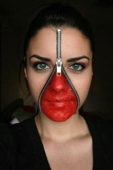 Maquillaje de Halloween - Maquillaje gore