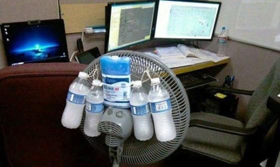 Inventos Caseros Rudimentarios que Realmente Funcionan - Ventilador casero
