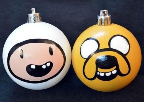 Adornos de Navidad Adventure Time