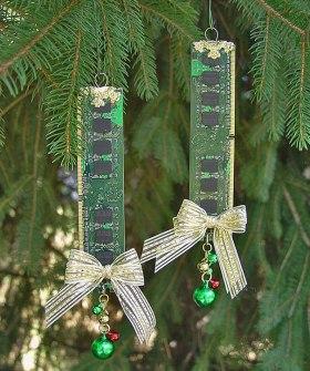 Adornos de Navidad placa base