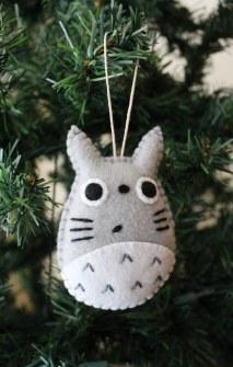Adornos de Navidad de Totoro