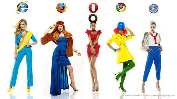 Exploradores de Internet versión femenina