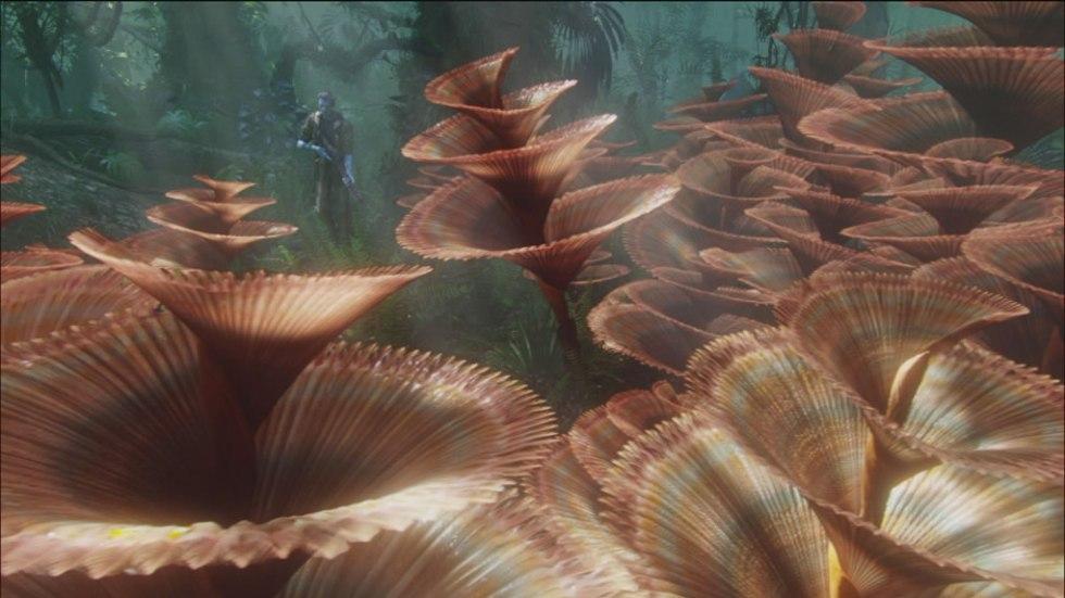 Árboles de Navidad en la película Avatar