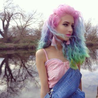 melena-arco-iris