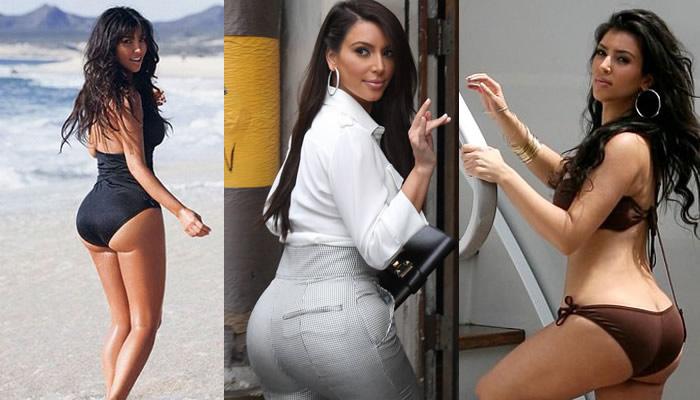 Kim Kardashian Trasero.