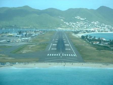 Aeropuertos en la playa
