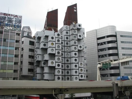 Casas Nagakin. Tokio.
