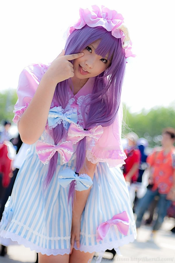Cosplayers japonesas