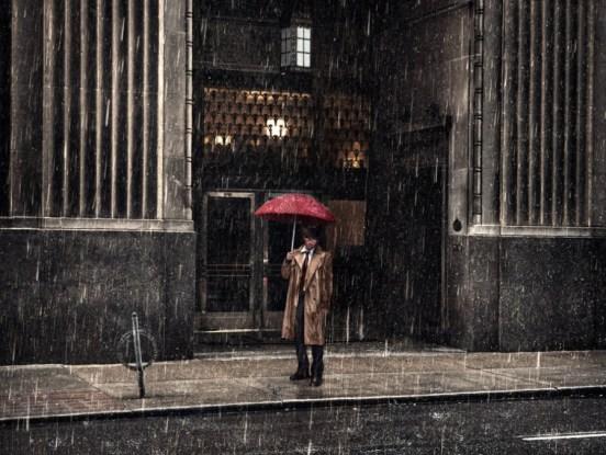 Fotografía In Pieces.Paraguas para lluvia.