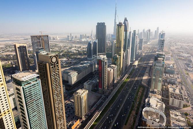 Dubai desde el aire