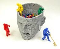Lego Cráneo.