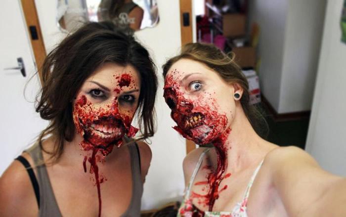 Maquillaje para Zombies