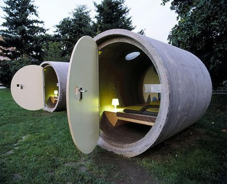 Hotel Tuberias Drenaje. Austria.
