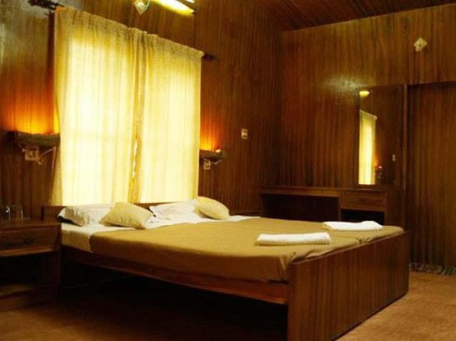 Hotel Árbol en la India.