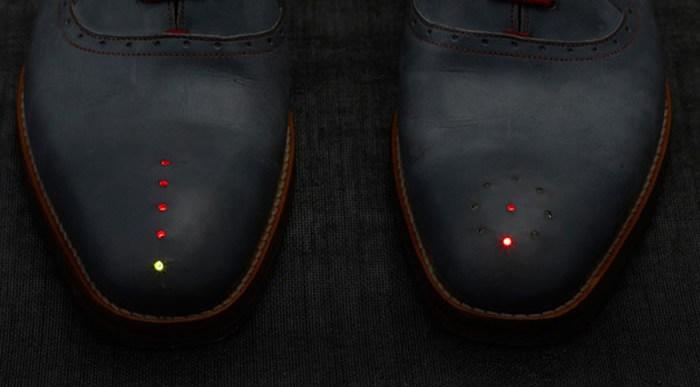 No te orientas? Prueba estos Zapatos Inteligentes.