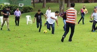 Varias actividades se desarrollaron durante la convivenci Uber. / Foto: Cortesía.