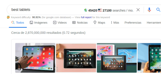 Best Tablets SEO