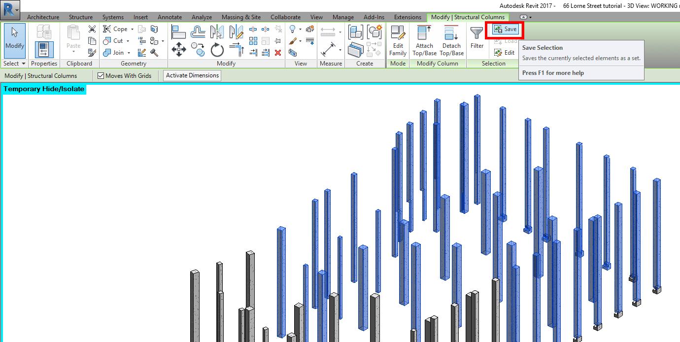 How to quickly split columns in Revit - The 2 Best methods