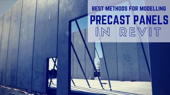Revit Precast Panels