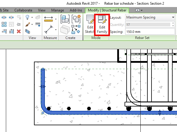 Rebar Schedule in Revit