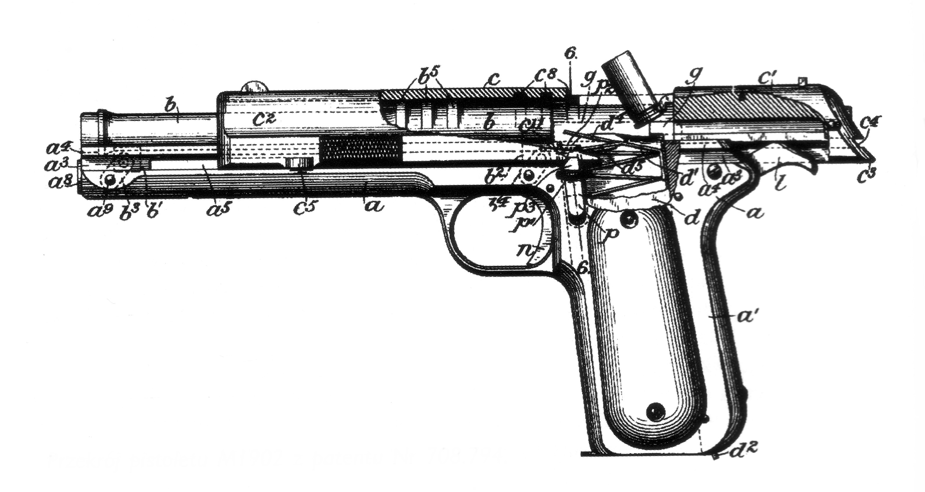 M Colt Automatic Pistol In 38 Automatic 38acp
