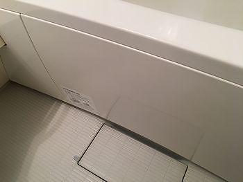 浴槽パネル洗浄