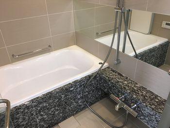 天然石浴室