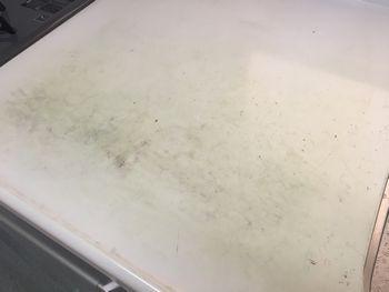 キッチン天板傷2