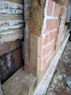 Timber frame and sole plate repair