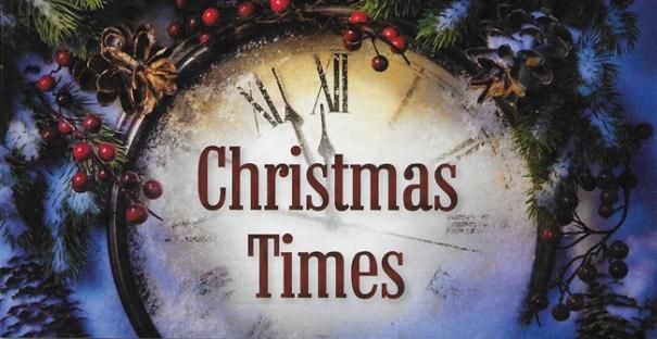 Christmas Past... Christmas Present... Christmas Future...