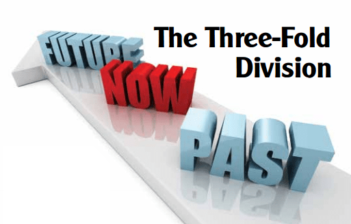 The Three Fold Division In Scripture