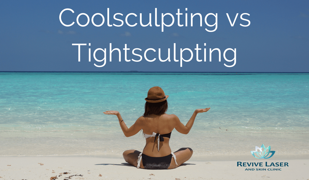 CoolSculpting VS. TightSculpting