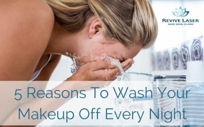 5 Reasons To Wash Your Makeup Off Every Night