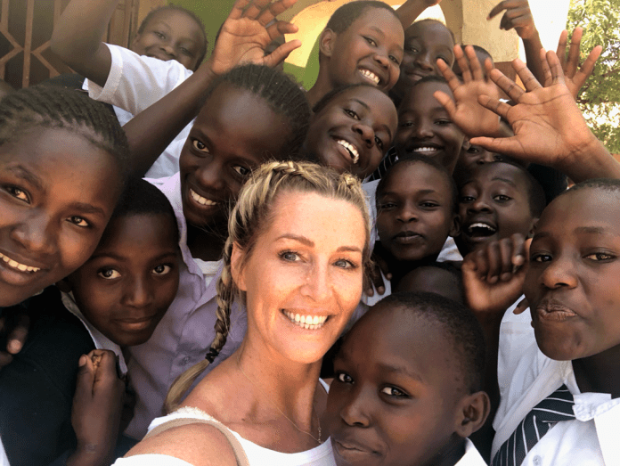 Leanne Brown and the Charity One Woman at a time in Africa