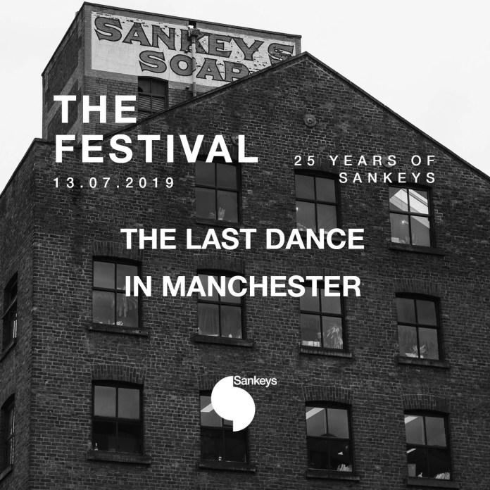 Sankeys The last Dance flyer