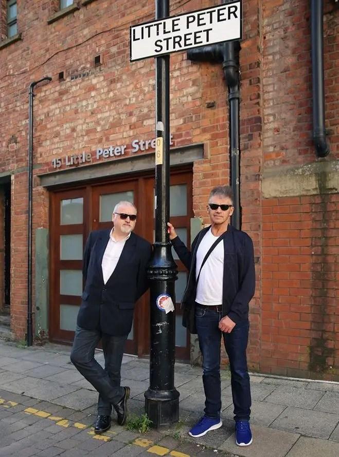 Brian Gorman with Tony Davidson