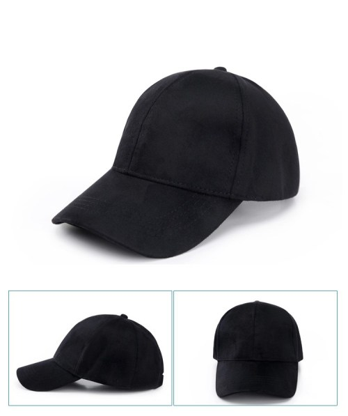 Casual Suede Snapback Hats  591640c87a4
