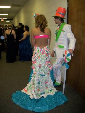 duc tape prom