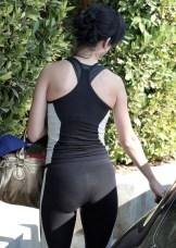 yoga pants goth